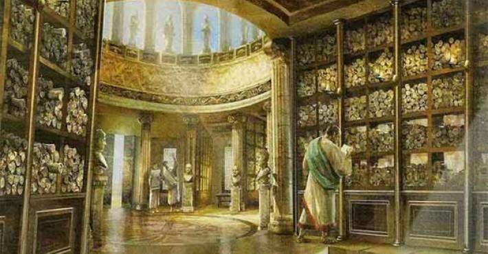 Η βιβλιοθήκη της Αλεξάνδρειας (Ι)