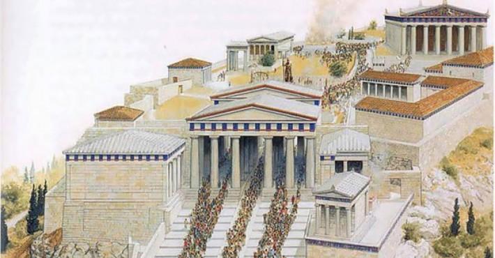 Ιστορία της Αρχαίας Αθήνας, Ο Μύθος