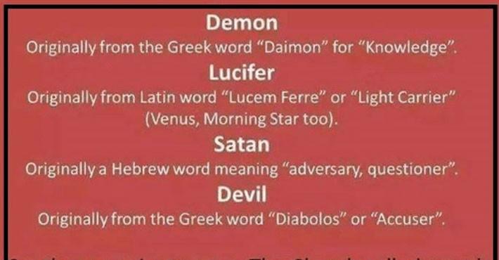 Πως η ιερότερη λέξη των αρχαίων έγινε συνώνυμο του διαβόλου