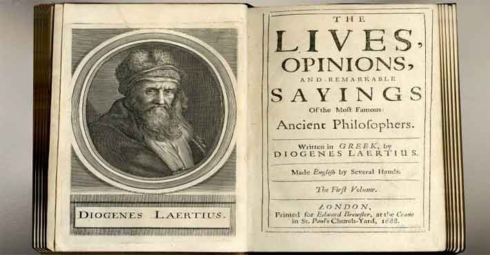 Διογένης ο Λαέρτιος (180 - 240)