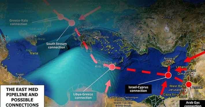 Το όνειρο του αγωγού East Med απέχει πλέον ελάχιστα