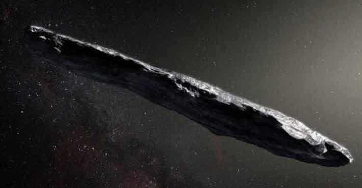 Προβληματισμός για τον πρώτο αστεροειδή από άλλο αστρικό σύστημα (Βίντεο)