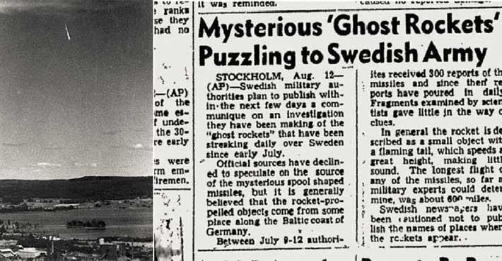 Το μυστήριο των Spökraketer