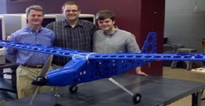 Κατασκεύασαν αεροπλάνο με εκτυπωτή