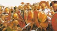 Υσιές 669 Π.Χ. Οι Αργείοι οπλίτες του Φείδωνος ταπεινώνουν τους Σπαρτιάτες