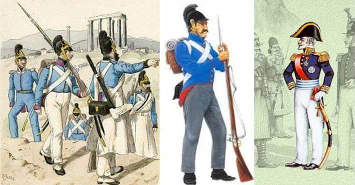 1826: Χαϊδάρι, Το ελληνικό πεζικό κυνηγά με την λόγχη τους Τούρκους ιππείς