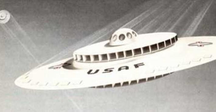 Ιπτάμενο δίσκο σχεδίαζε η Αεροπορία των ΗΠΑ τη δεκαετία του '50